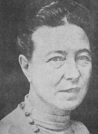 Simone de Beauvoir, partner van Sartre