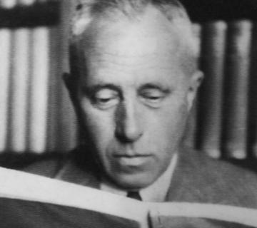 Johan Huizinga. Bron: ISVW Uitgevers