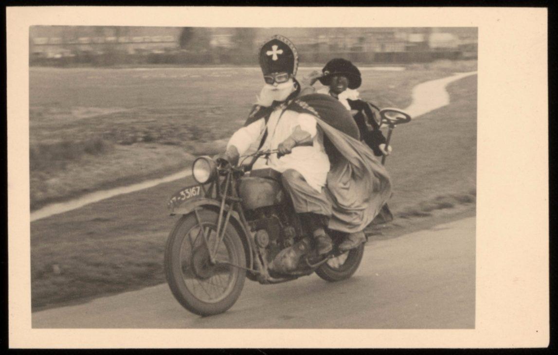 Sinterklaas op de motorfiets (en andere bijzondere tijdsbeelden)