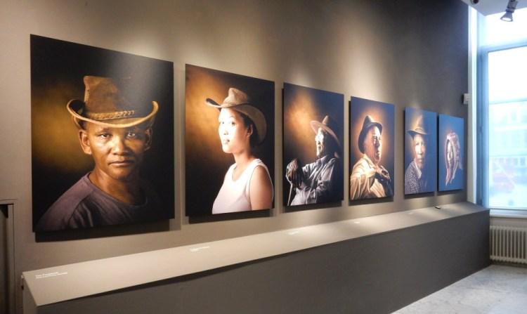 Enkele foto's in de tentoonstelling in het Westfries Museum in Hoorn