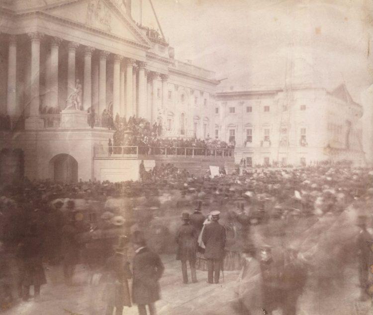 Inauguratie James Buchanan, maart 1857