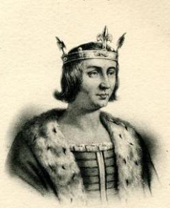 Luís I van Navarra, De Stijfkop