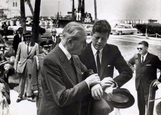 Macmillan and John F. Kennedy in 1961