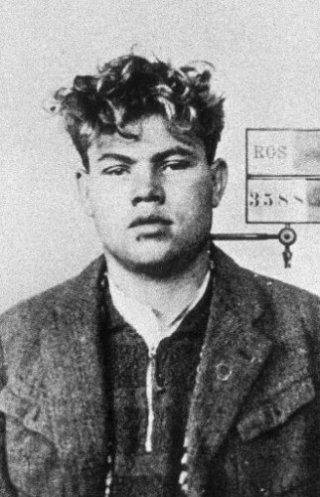 Marinus van der Lubbe - Duitse politiefoto uit 1933