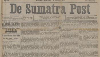 De Sumatra Post in januari 1917 (Delpher)