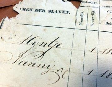 Surinaamse slavenregisters komen online