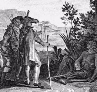 Candide ontmoet een Surinaamse slaaf