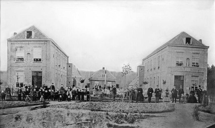 Jaarfeest, 1871  (Archief Van 't Lindenhoutmuseum)