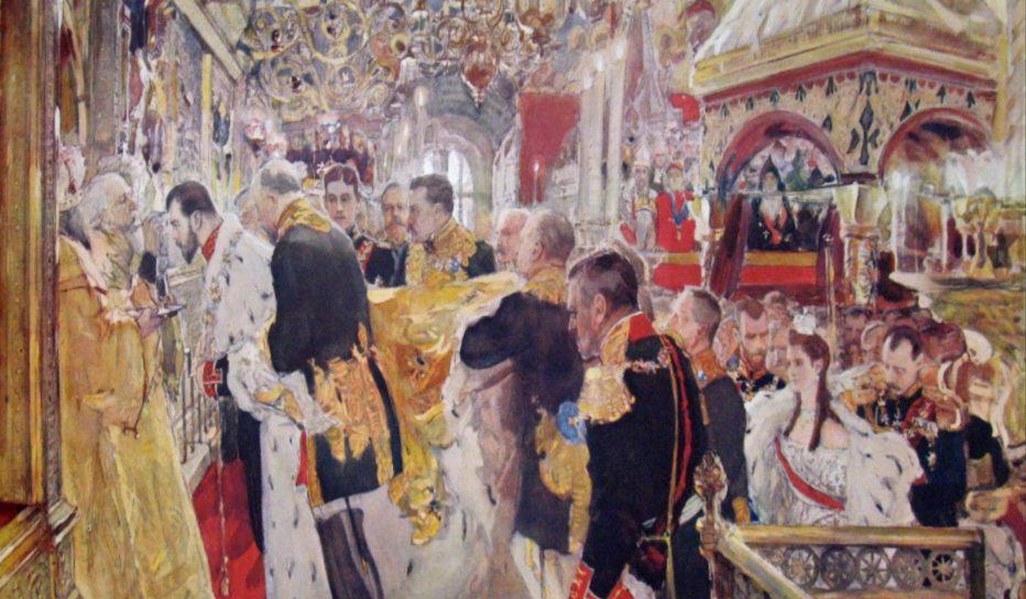 Kroning van Nicolaas II (Valentin Serov)