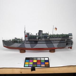 Schaalmodel van de HMS Li Wo van Wilkinson - cc