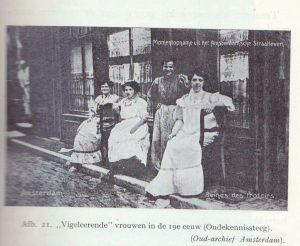Vigilerende vrouwen