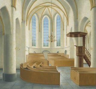 Interieur kerk Hengelo - Maarten 't Hart, 2010 (maarten-thart.nl)