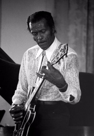 Chuck Berry in 1987
