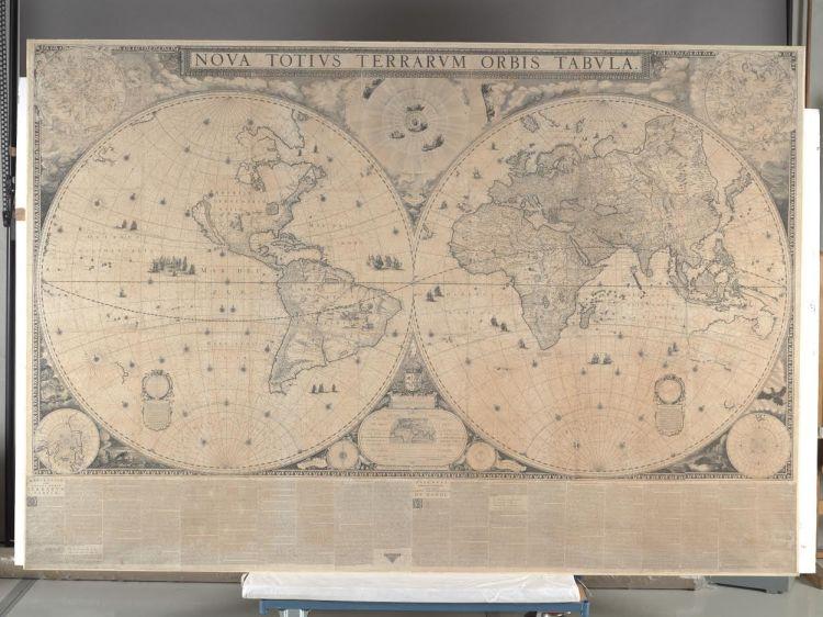 De volledige kaart (Scheepvaartmuseum)