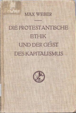 Die protestantische Ethik und der Geist des Kapitalismus - cc