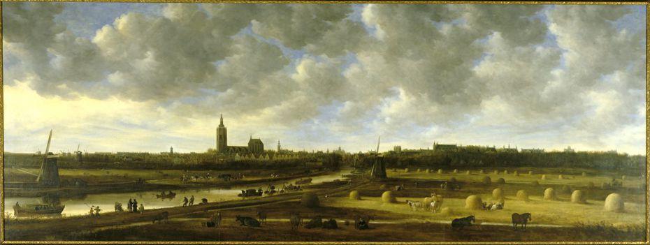 Gezicht op Den Haag vanuit het zuidoosten - Jan van Goyen