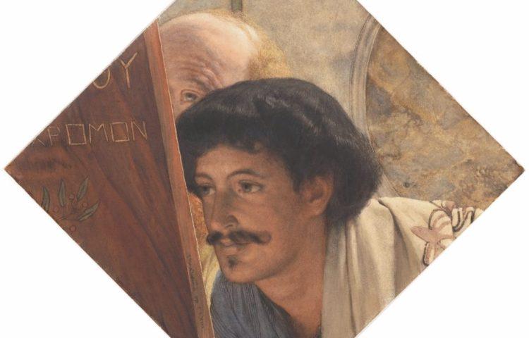 Het door Teylers aangekochte werk van Lourens Alma Tadema