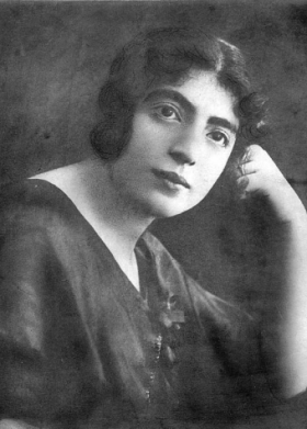 Moeder Rywa Templer in 1920