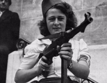 Simone Segouin, een stoere Française (U.S. National Archives)