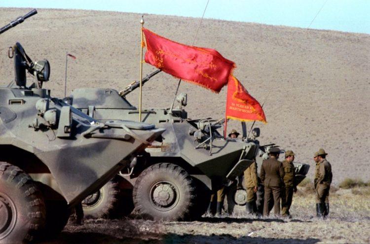 Sovjet-troepen keren terug uit Afghanistan (cc - RIA Novosti)