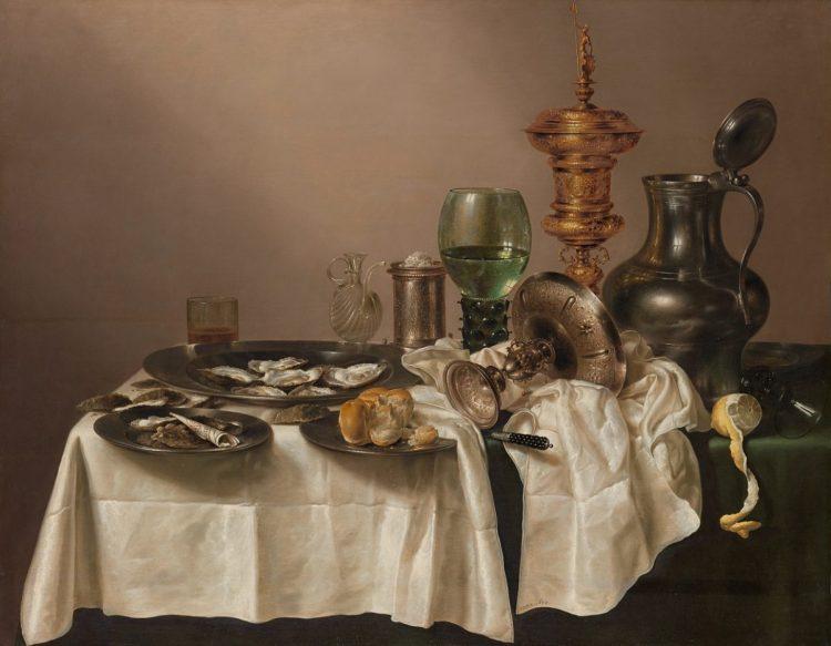 Stilleven met vergulde bokaal - Heda (Collectie Rijksmuseum)