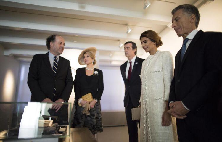 Bezoek president Argentinië aan Anne Frank Huis1, Anne Frank Stichting, Cris Toala Olivares