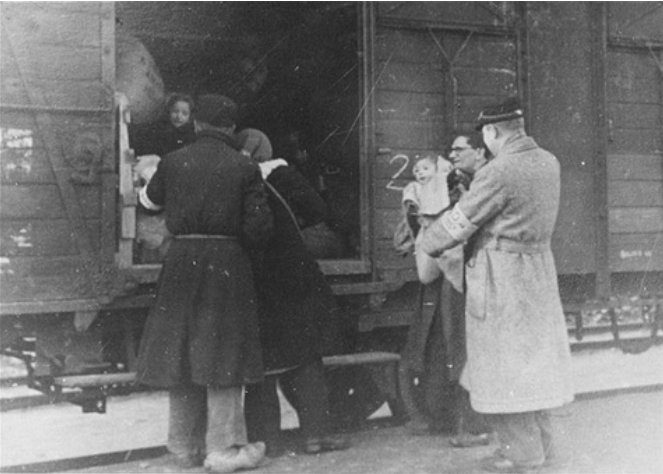 Deportatie uit Kamp Westerbork
