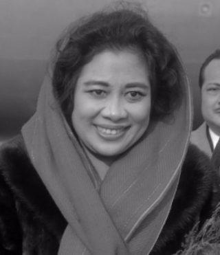 Fatmawati Soekarno (cc - Nationaal Archief - wiki)