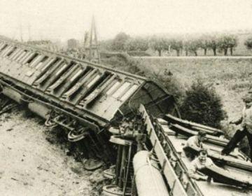 Treinramp bij Houten, 1917 (wiki)