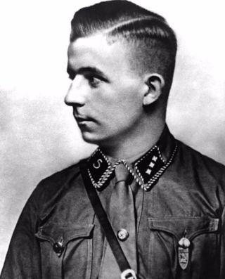 Horst Wessel in 1929 (cc - Bundesarchiv)