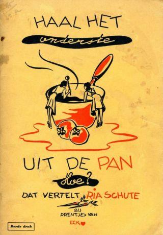 Oorlogskookboek 'Haal het onderste uit de pan' (1942)