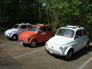 Vintage Fiat 500s (Foto Edwin Ruis)