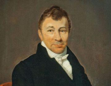 A.C.W. Staring, portret door Louis Moritz (Stedelijk Museum Zutpen)