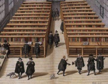 De Universiteitsbibliotheek Leiden in 1610