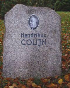 Gedenkteken van Colijn in Ilmenau