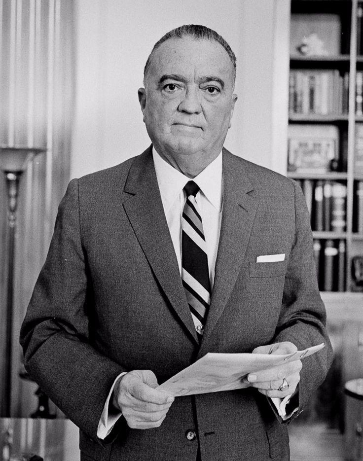J. Edgar Hoover in 1961 - cc