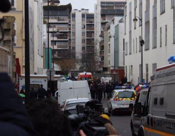 Hulpdiensten na de aanslag op Charlie Hebdo - cc