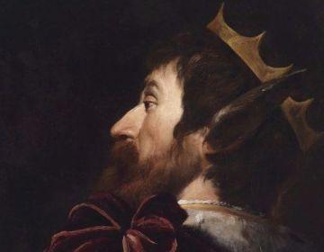 Koning Midas met zijn ezelsoren (Andrea Vaccaro)