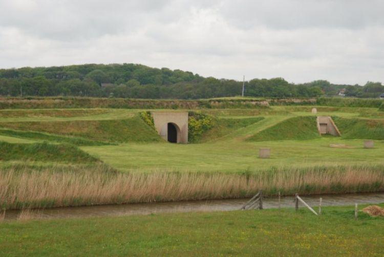Fort de Schans in Oudeschild (cc - Ecomare/Salko de Wolf )