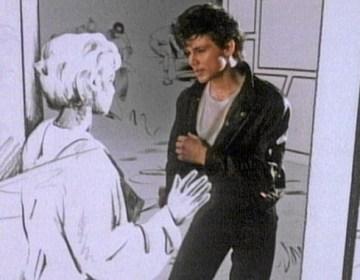 Still uit de oorspronkelijke videoclip van A-ha