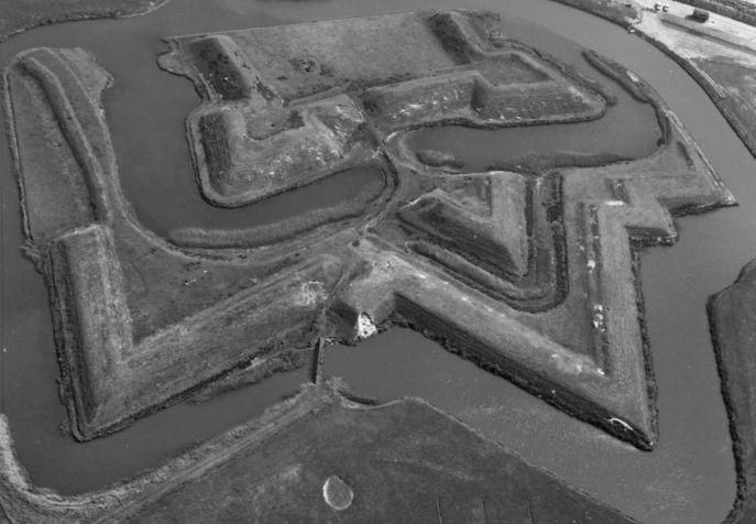 Fort De Schans op Texel (ca.1574)