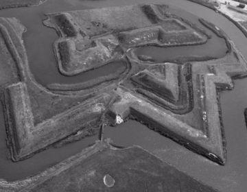 Fort De Schans op Texel (cc - Rijksdienst voor het Cultureel Erfgoed)
