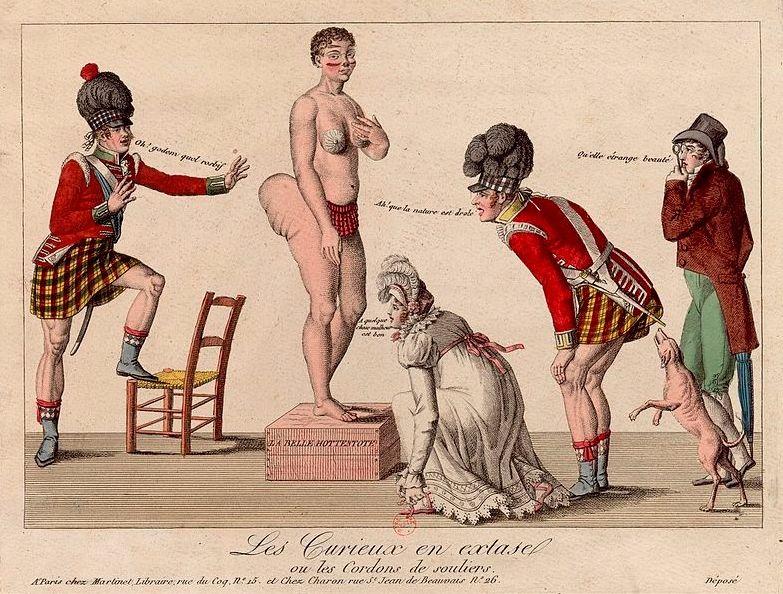 Saartjie Baartman (1789-1815) - De Hottentot-Venus