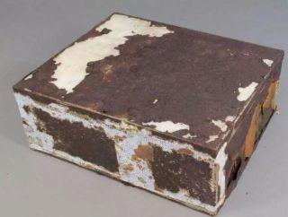 Blik waarin de cake zat  (Foto Antarctic Heritage Trust)