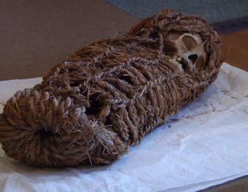 Kind-mummie uit Peru