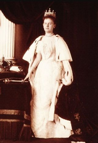 Wilhelmina als koningin