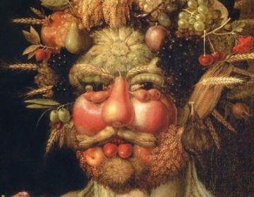Lachen met middeleeuwse schilderijen