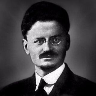 Bekende foto van Leon Trotski