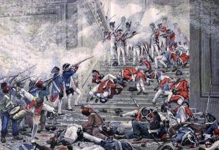 Bestorming van de Tuileriën, 10 augustus 1792 - Henri-Paul Motte