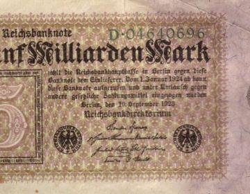 Biljet van 5 miljard Mark uit 1923 (cc)